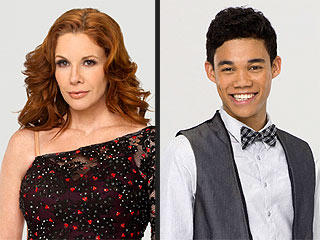 Melissa Gilbert, Roshon Fegan Booted in Dancing's Double Elimination | Melissa Gilbert, Roshon Fegan