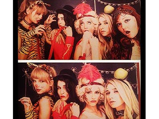 PHOTO: Taylor Swift and Dianna Agron Play Birthday Dress-Up (Again!) | Dianna Agron, Taylor Swift