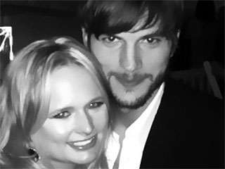 Ashton Kutcher & Miranda Lambert Bury the Hatchet at Pre-Kentucky Derby Party | Ashton Kutcher