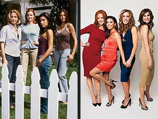 PHOTOS: The Desperate Housewives Stars, Then and Now | Desperate Housewives, Eva Longoria, Felicity Huffman, Marcia Cross, Teri Hatcher