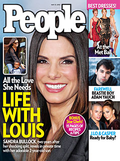 Inside Sandra Bullock&#39;s Life with Her Son Louis | Sandra Bullock