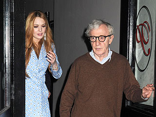 Why Did Lindsay Lohan Dine with Woody Allen? | Lindsay Lohan, Woody Allen