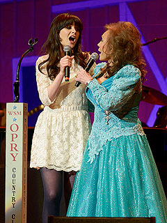 Zooey Deschanel to Hit Broadway – as Loretta Lynn