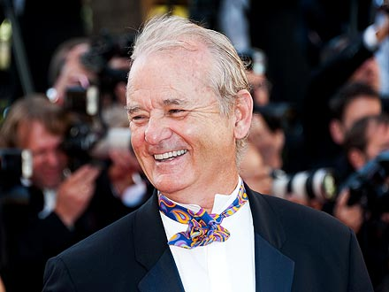 Bill Murray's Flirty Night at French Bar | Bill Murray