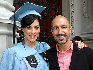 Ethan Steps Out Post Stem-Cell Transplant for Jenna's Graduation | Ethan Zohn, Jenna Morasca