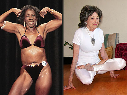 Guinness World Records's Oldest Female Bodybuilder and Yoga Teacher