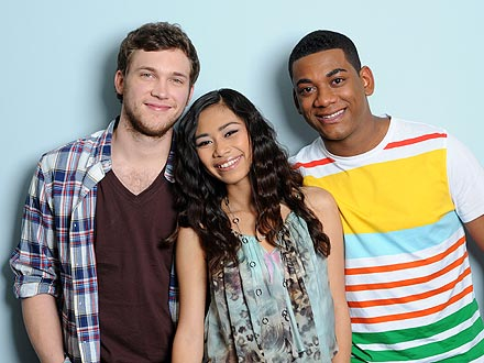 American Idol: Joshua Ledet, Jessica Sanchez and Phillip Phillips Perform