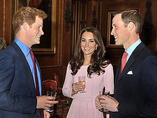 Kate Is Pretty in Pink for the Queen | Kate Middleton, Prince Harry, Prince William