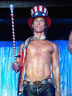 It's All Bare and All McConaughey in Magic Mike | Matthew McConaughey