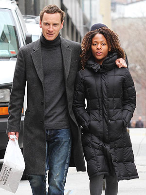 Michael Fassbender Dating Costar Nicole Beharie