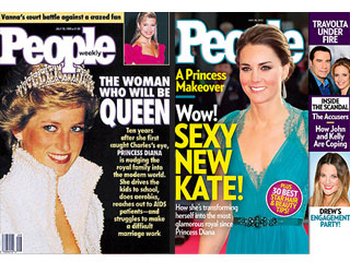 Cover Flashback: See Princess Diana in 1990 & Kate Today! | Kate Middleton, Princess Diana