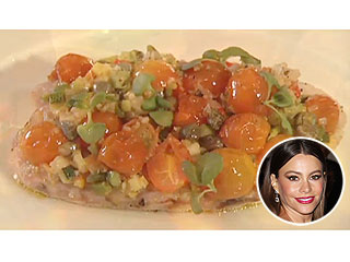 Create One of Sofia Vergara's Favorite Gourmet Fish Dishes | Sofia Vergara