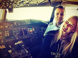 Bar Refaeli Makes an Airline Pilot's Day | Bar Refaeli