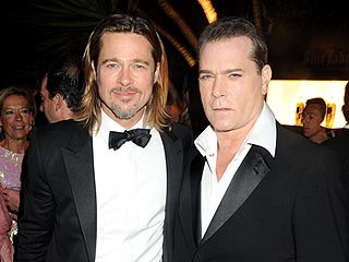 Brad Pitt Parties with Diddy in Cannes | Brad Pitt, Ray Liotta