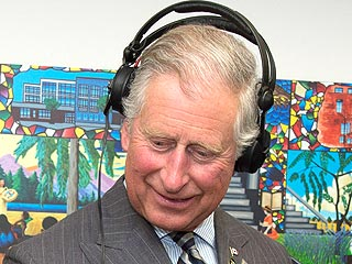 See Prince Charles Try His Hand at Deejaying | Prince Charles