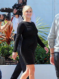 PHOTO: Reese Shows Off Her Baby Bump in Little Black Dress at Cannes | Reese Witherspoon