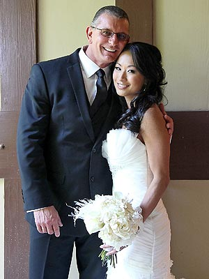 Robert Irvine with beautiful, Wife Gail Kim