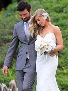 See Brandon Jenner's Romantic Wedding Photo