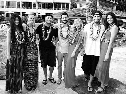 Brandon Jenner, Leah Felder Marry in Hawaii : People.com