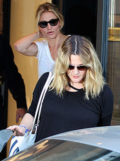 Drew Barrymore Enlists Cameron Diaz at Final Wedding Gown Fitting | Cameron Diaz, Drew Barrymore