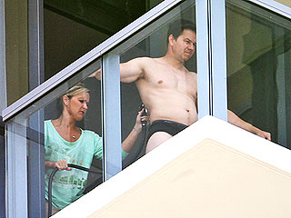 PHOTOS: Mark Wahlberg in His Underwear – Getting Spray Tanned | Mark Wahlberg