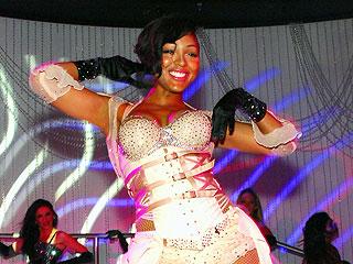 Think Like a Man's Meagan Good Has a Burlesque Bachelorette Bash | Meagan Good