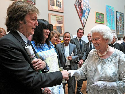 Diamond Jubilee Concert: Paul McCartney, Elton John, Stevie Wonder