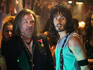 Russell Brand Is Proud of His 'Sexy' Rock of Ages Kiss with Alec Baldwin | Alec Baldwin, Russell Brand