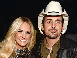 Carrie Underwood Wins Big – and Husband Hugs Brad Paisley First!