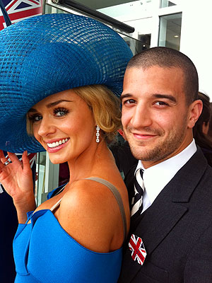 Mark Ballas Spends Day at Royal Derby| Dancing With the Stars, The British Royals, Mark Ballas, Queen Elizabeth