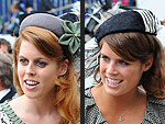 Princesses Beatrice, Eugenie Escort the Queen to the Derby