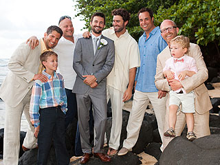 Brandon Jenner's Colorful Wedding Party Pictures| Couples, Weddings, Brody Jenner, Bruce Jenner, Kris Jenner