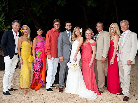 Brandon Jenner's Colorful Wedding Party Pictures - Couples, Weddings