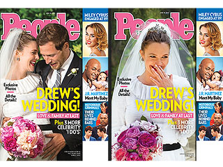 Vote for Your Favorite Drew Barrymore PEOPLE Cover | Drew Barrymore, Will Kopelman
