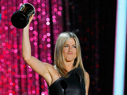 Jennifer Aniston, MTV Movie Awards Dirtbag Honors