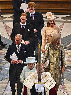 Crowds Cheer Queen Elizabeth on Final Jubilee Day | Kate Middleton, Prince Charles, Prince Harry, Prince William, Queen Elizabeth II