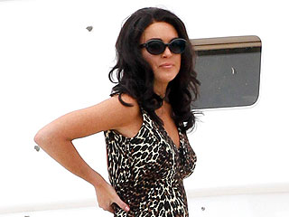 First Look: It's Lindsay Lohan as Liz Taylor – in a Bathing Suit! | Lindsay Lohan