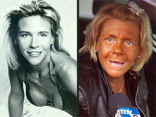 See the 'Tanning Mom' Before  the Tan!