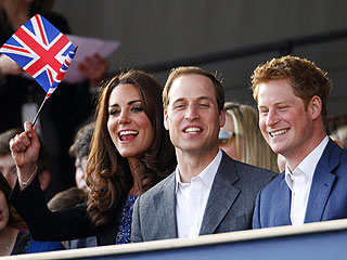 William & Kate Hang with Harry at the Diamond Jubilee Concert | Kate Middleton, Prince Harry, Prince William