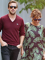 PHOTO: Ryan Gosling & Eva Mendes Sightsee at Niagara Falls | Eva Mendes, Ryan Gosling