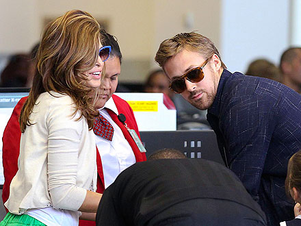 Ryan Gosling, Eva Mendes Head to Canada Together