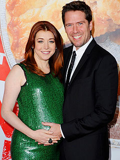 alyson hannigan 240 Its a Girl for Alyson Hannigan