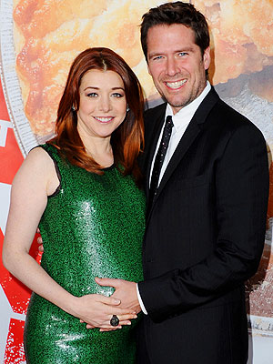 It's a Girl for Alyson Hannigan & Alexis Denisof