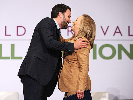 Ben Affleck and Hillary Clinton Team Up for USAID
