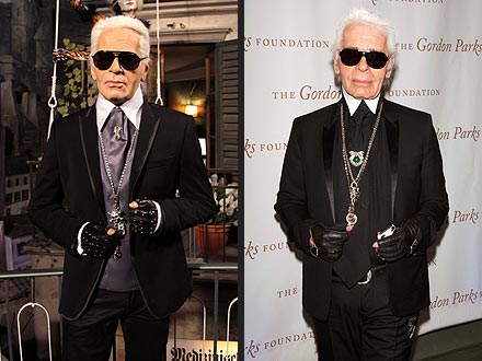 Karl Lagerfeld Gets a Wax Figure: Photo