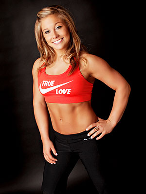 Shawn Johnson Watches Weight Post-Gymnastics