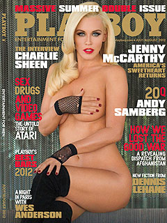 See Jenny McCarthy&#39;s Sexy-at-39 Playboy Cover