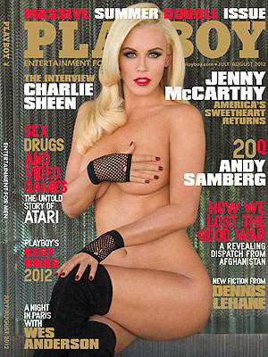 Jenny McCarthy Is Comfortable Posing Nude as a Mom| Celebrity Scandals, Playboy, Bodywatch, Jenny McCarthy