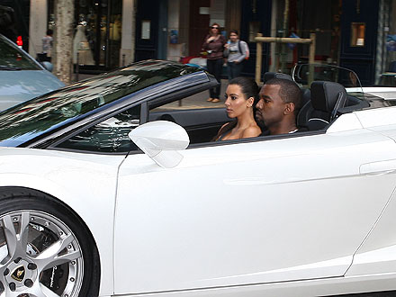 Kanye West & Kim Kardashian's Paris Problem: Traffic| Couples, Paris, Kanye West, Kim Kardashian