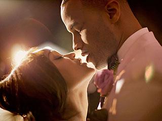 See Meagan Good's First Kiss at Her Wedding!   Meagan Good
